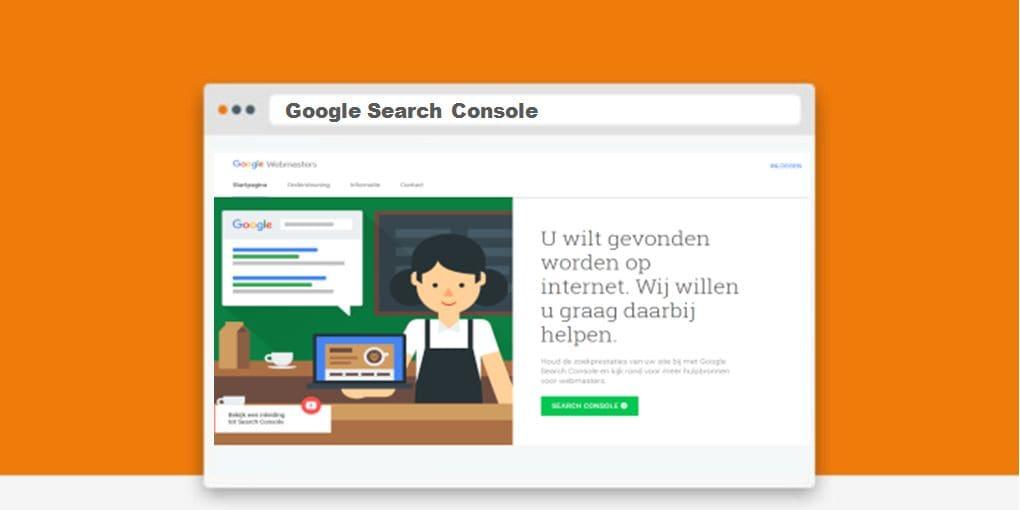 Search console van Google